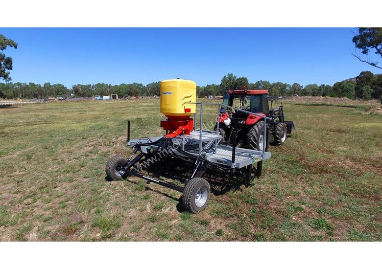 2018 FARMTECH AERVATOR GH-3004 MAXI QUAD GANG (TRAILING, 3.0M CUT)