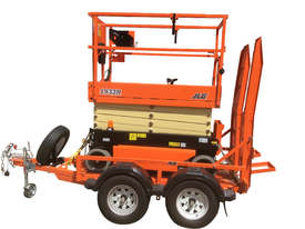 19ft Scissor Lift and Trailer - picture0' - Click to enlarge