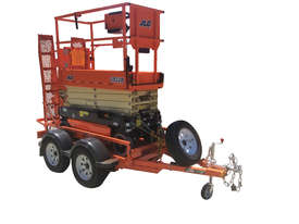 19ft Scissor Lift and Trailer - picture2' - Click to enlarge