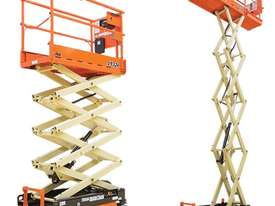 19ft Scissor Lift and Trailer - picture7' - Click to enlarge