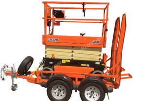 Jlg 19ft Scissor Lift and Trailer