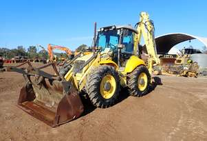 New Holland LB115B Backhoe Loader