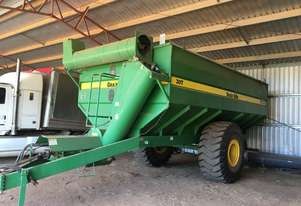 Tru Fab Grain King 30T Haul Out / Chaser Bin Harvester/Header