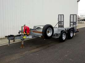 1996 Rogers & Sons Dual Axle Galvanised Plant Trailer - picture0' - Click to enlarge