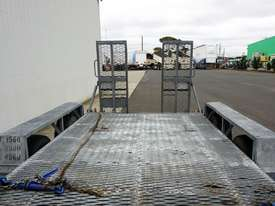 1996 Rogers & Sons Dual Axle Galvanised Plant Trailer - picture1' - Click to enlarge