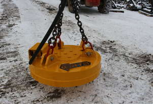 GRYB magnet for scrap metal for excavator