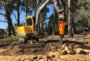 Hydraulic Hammer SM30S to suit 2.5t - 4.5t excavator