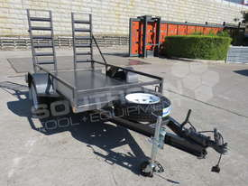 1.4 TON Plant Trailer suit Mini Bobcats skidsteer loaders ATTPT - picture0' - Click to enlarge