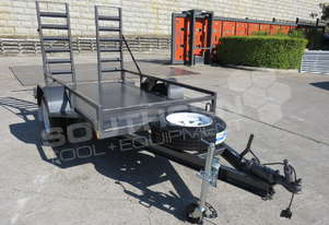 1.4 TON Plant Trailer suit Mini Bobcats skidsteer loaders ATTPT