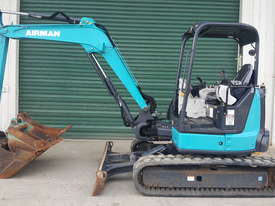 2014 Airman AX55U-6A Excavator. - picture0' - Click to enlarge