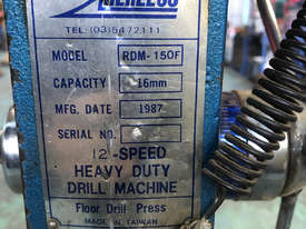 Herless Press Floor Mount Pedestal Drill  Single Phase 240V RDM150F - picture2' - Click to enlarge