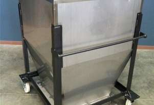750ltr Stainless Steel Hopper With Bottom Sliding Tray**WE ARE OPEN FOR BUSINESS DURING LOCKDOWN**