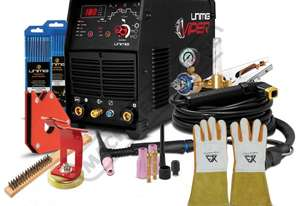 VIPER TIG 180 AC/DC Inverter TIG/ARC Welder Package Deal 5-180A, #KUM-M-VTIG180ACDC Includes Tig Sta