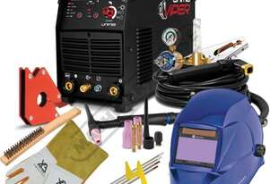 VIPER TIG 180 AC/DC Inverter TIG/MMA (ARC) Welder Package Deal 5-180A, #KUM-M-VTIG180ACDC Includes A