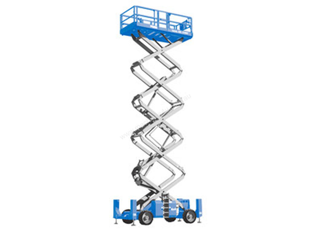 New Genie Gs 4390rt Rough Terrain Scissor Lift In