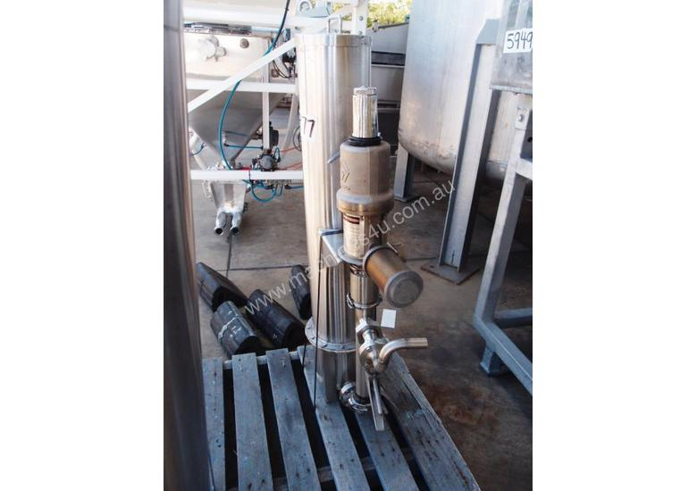 Drum Pump, IN: 40mm Dia, OUT: 40mm Dia