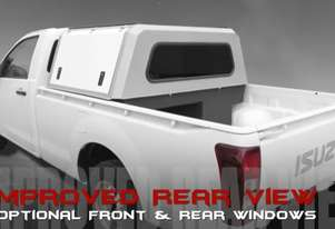 Ute Canopy Toolbox XL with rear view window
