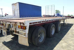 Unknown  Semi  Flat top Trailer