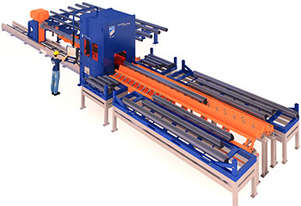 HGG  TCL 400 - Pipe & Tube Cutting Line Machine