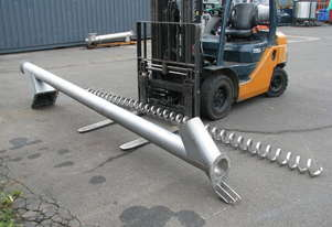 Stainless Auger Feeder Screw Conveyor - 4.2m long