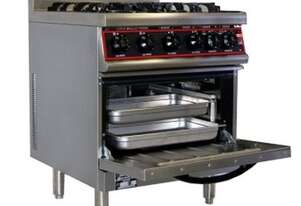 Goldstein GR/GE710FF - 4 Burner Gourmet Range Fan Forced Electric Oven