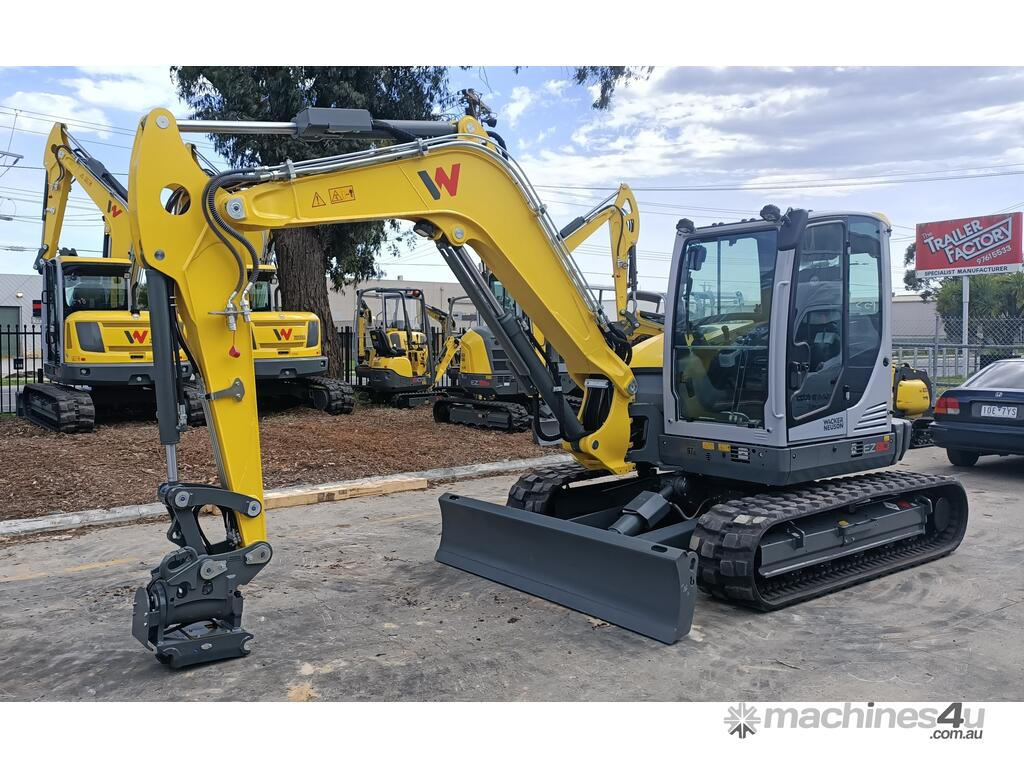 New 2020 Wacker Neuson Ez80 Excavator In Kilsyth Vic