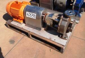 Centrifugal Pump (Stainless Steel), IN: 40mm Dia, OUT: 25mm Dia