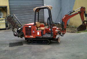 HT-25 track trencher , 1,000hrs , new chain teeth etc ,