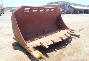 3500mm OM Spade Mouth Loader Bucket with Hitch (To Suit 980H Wheel Loader)