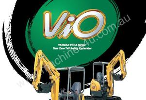 Yanmar ViO20-3 -  Mini Excavators