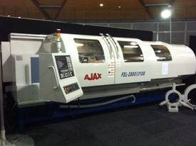 Ajax Flat Bed CNC Lathes opt. Live Tooling & C axis - picture0' - Click to enlarge