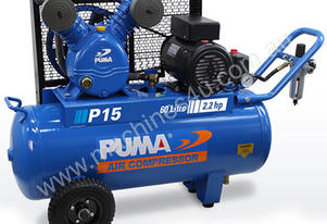 Puma Air Compressor 15CFM 10 AMP