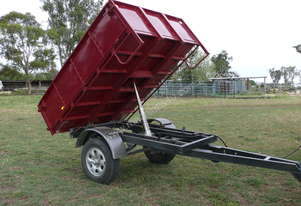2 tonne hydraulic tipping trailer