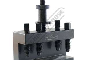 502-B Quick Change Toolpost Holder - Std 230mm  Centre Height Suits Model B Toolpost