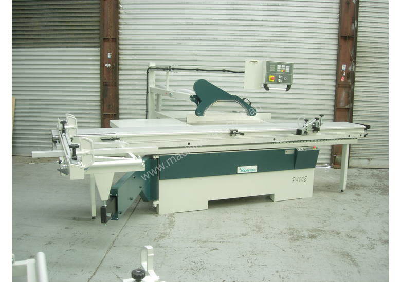 Romac P400E 3.8 NC Programmable panel saw Special