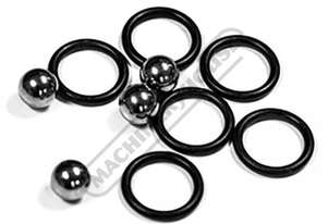 TMS5101 BuildPro Steel balls and O - Rings Suits Ball Lock Bolts
