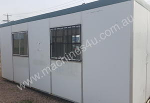 Used 6M x 2.4m Portable Building