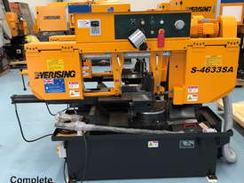 EVERISING S-4633SA BAND SAW | SEMI AUTO | MITRE CUTTING | 460 x 330MM CAPACITY | INVERTER | FULL STR - picture0' - Click to enlarge