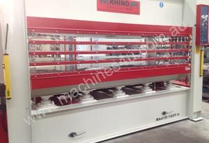 RHINO HEAVY DUTY 4 Daylight 150T 3050x1300mm HOT PRESS