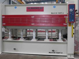 RHINO HEAVY DUTY 4 Daylight 150T 3050x1300mm HOT PRESS *AVAIL NOW* - picture0' - Click to enlarge