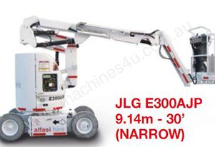JLG E300AJP 9.14m - 30' (NARROW)