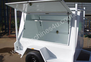 Western Trailers And Engineering 6X4 Tradies White Trailer