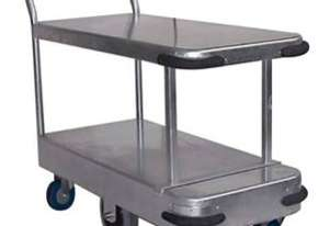 Twin Deck Trolley (Galvanised)