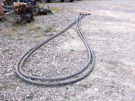 2 inch wire ropes/ tow cables - picture1' - Click to enlarge