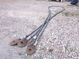 2 inch wire ropes/ tow cables - picture0' - Click to enlarge
