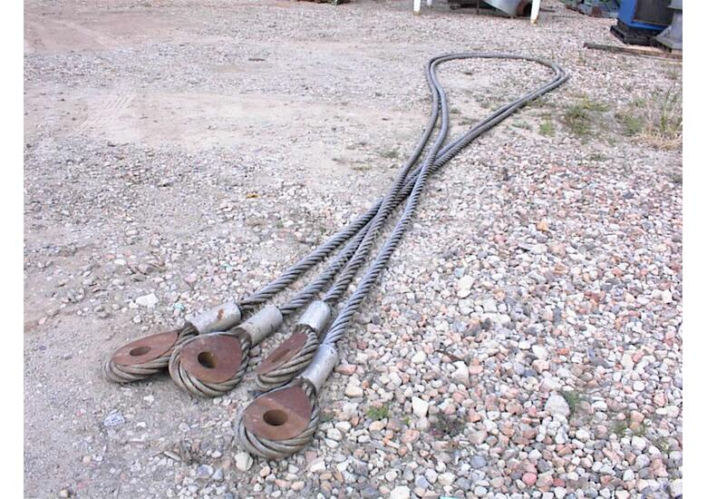 2 inch wire ropes