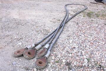 2 inch wire ropes/ tow cables