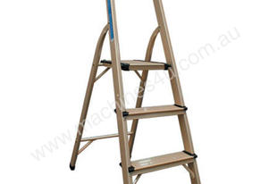ALLOY 3 STEP LADDER FOLD UP 100KG