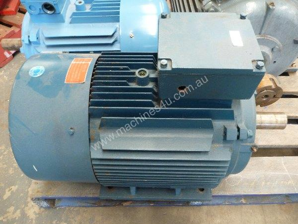 Used monarch frame 200 4 three phase motor in landsdale for 50 hp electric motor price