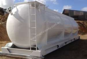 40,000 LITRE HEAVY THICK WALLED ALUMINIUM TANKS